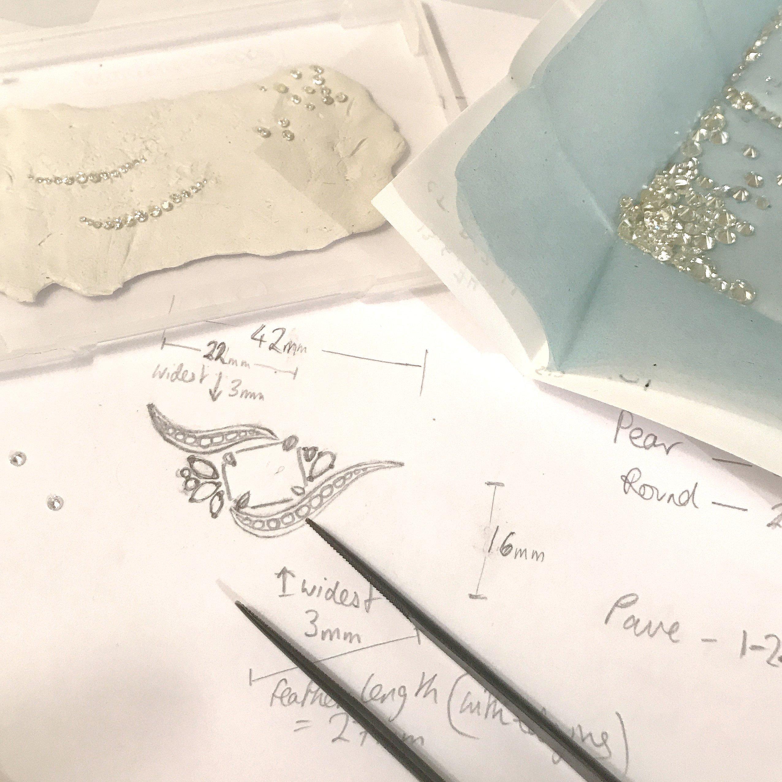 Bespoke - Dalia Daou Jewellery London