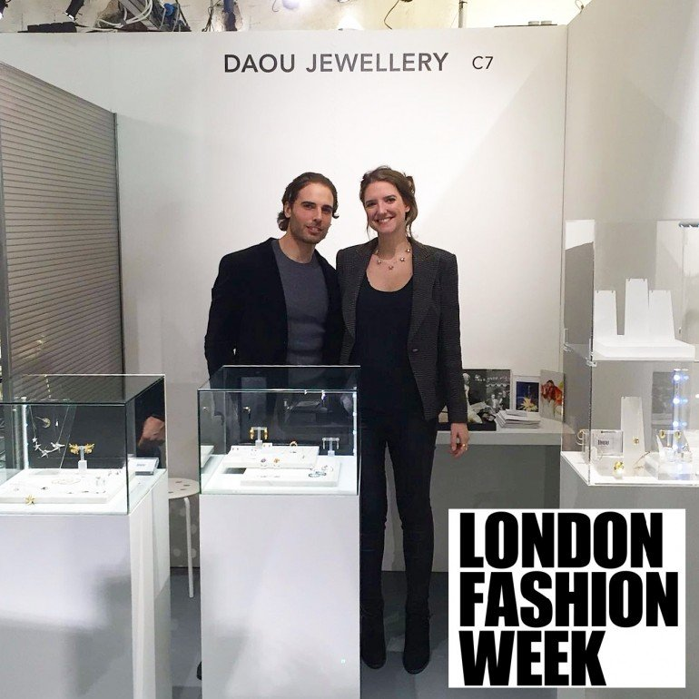 2016 February – London Fashion Week debut