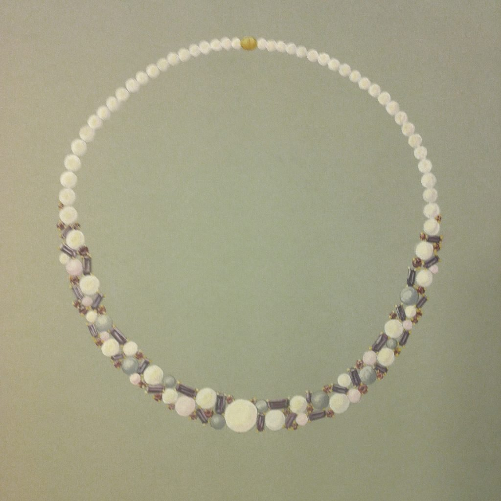 Pearl Berry Necklace Daou jewellery
