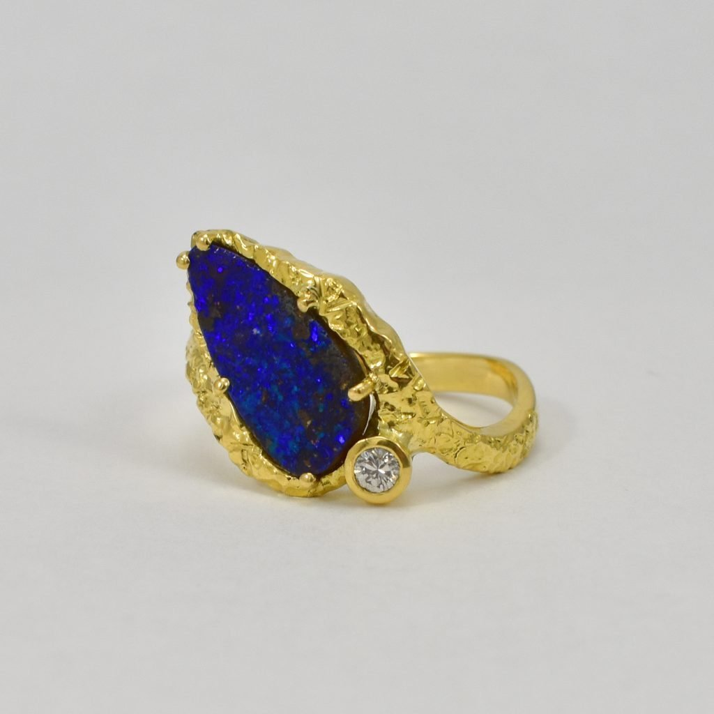 Opal & Diamond Ring - Daou