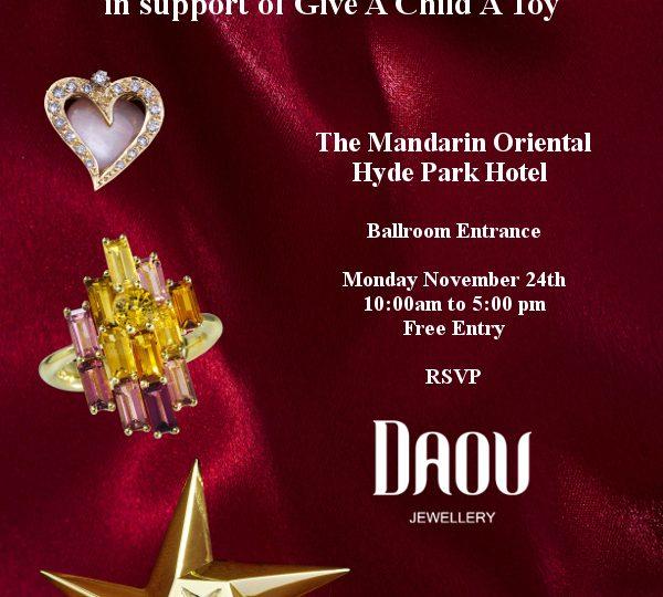 Christmas Charity Bazaar at the Mandarin Oriental