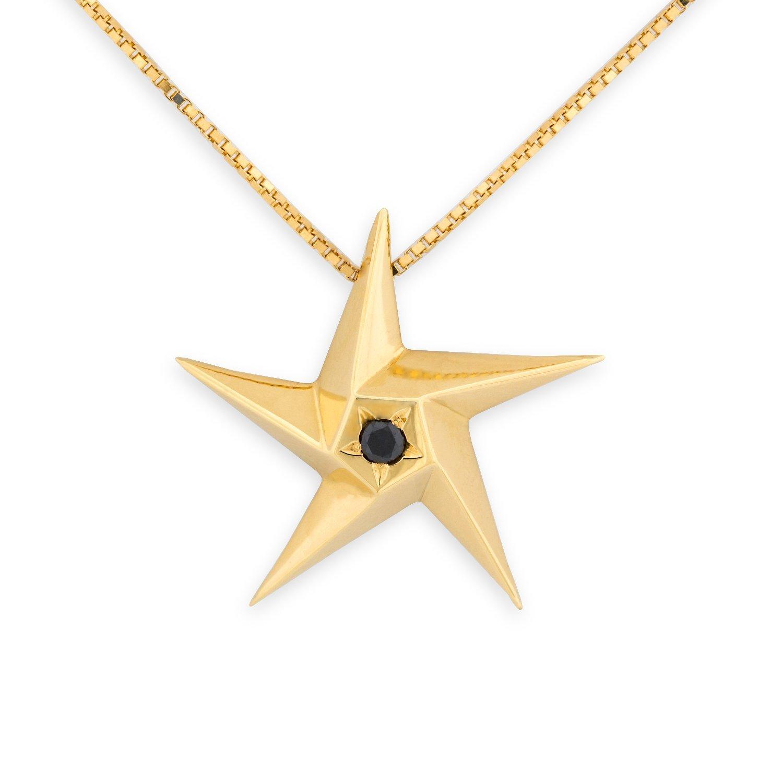 Daou Jewellery 18kt Gold Pure Ellipse Pendant CEo3FGMPR