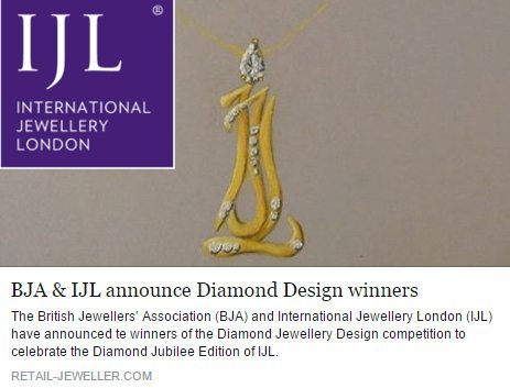 2015 – International Jewellery London Design Commendation