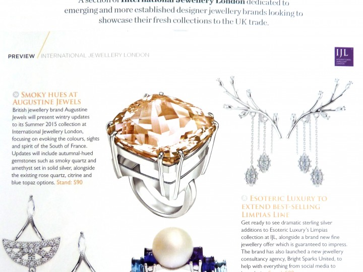 Professional Jeweller – Pearl ring IJL preview