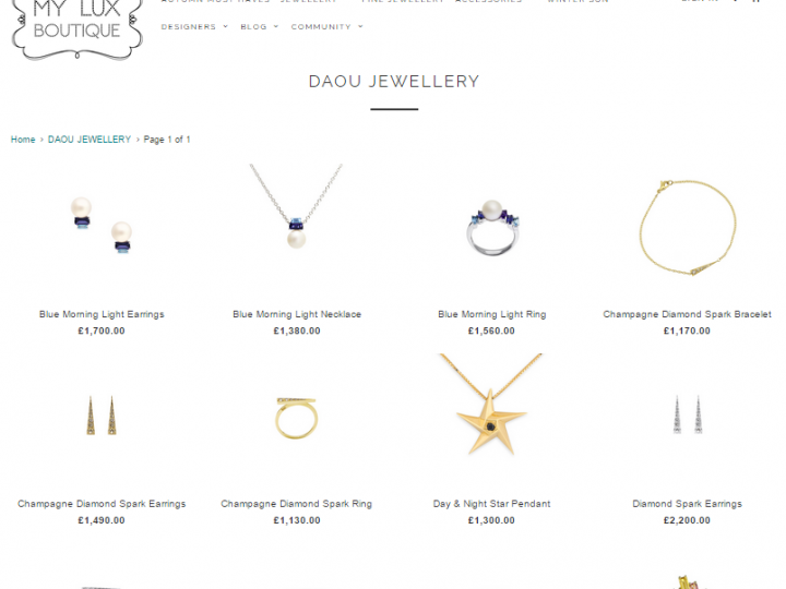 New Stockist – My Lux Boutique