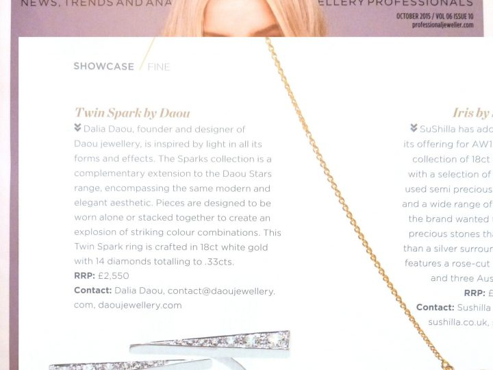 Professional Jeweller – Twin Spark Ring Showcase
