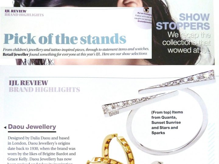 Retail Jeweller – IJL Brand Highlights & Editor's pick