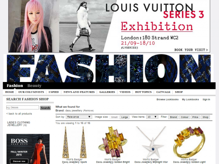Telegraph Fashion – Online Stockist