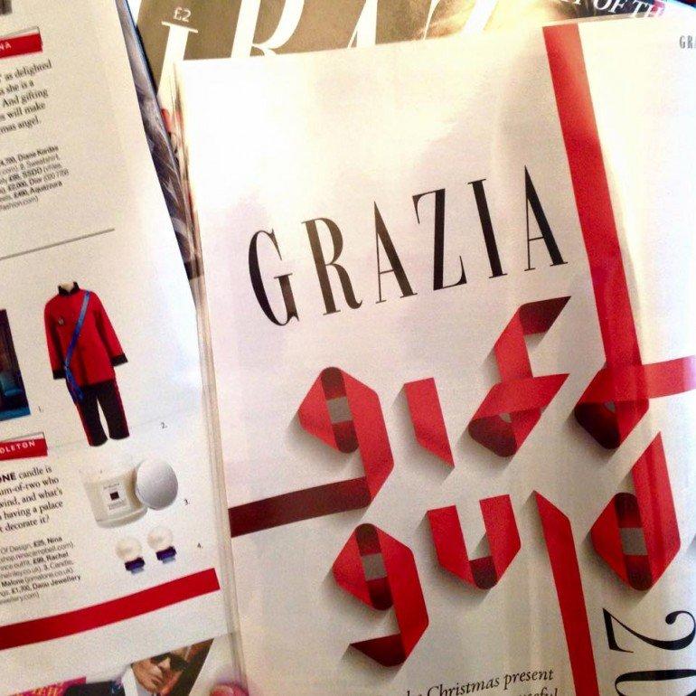 Daou Jewellery in Grazia magazine