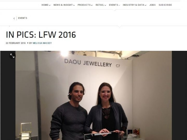 Retail Jeweller – Pictured in London Fashion Week album