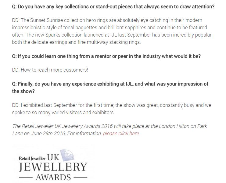 IJL Jewellery London Blog Daou Jewellery
