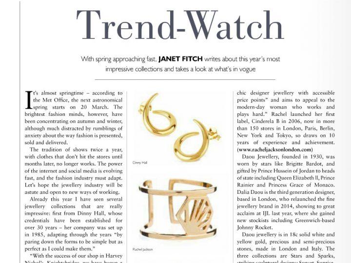Jewellery Focus – Trend Watch