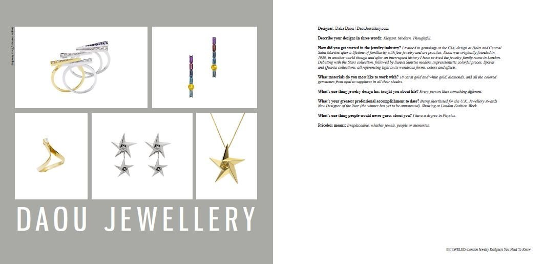 Bejewelled book Daou Jewellery