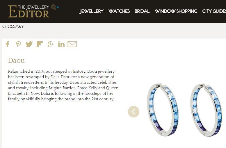 The Jewellery Editor Glossary Daou Jewellery
