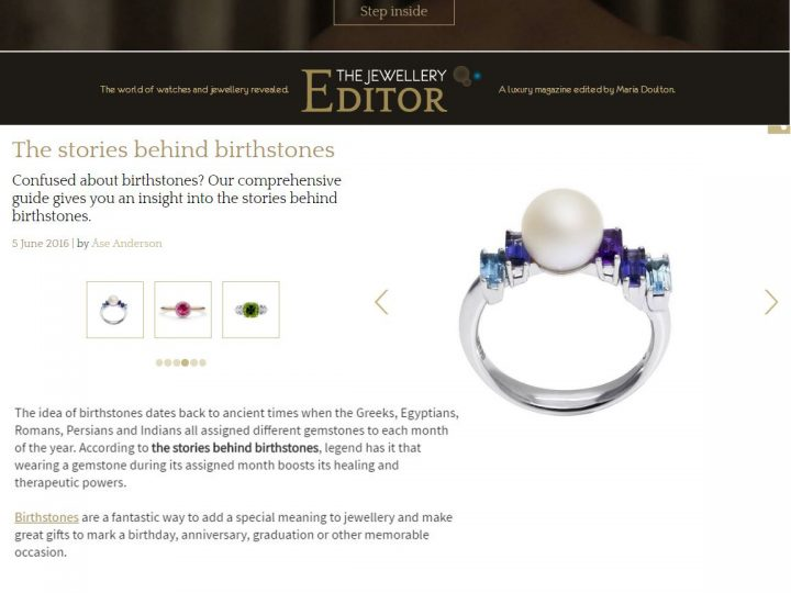 The Jewellery Editor – Birthstones