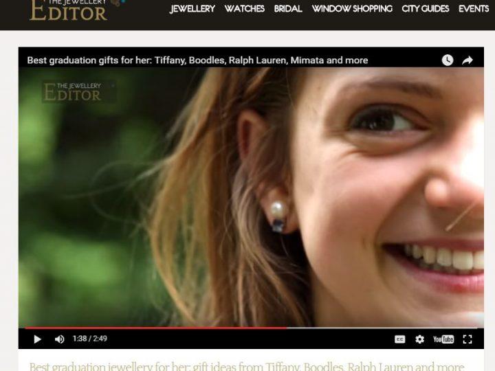 The Jewellery Editor – Graduation Gifts Film