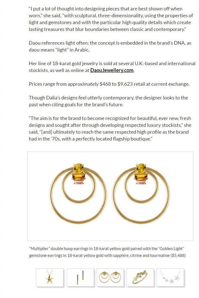 National Jeweller US Daou Jewellery