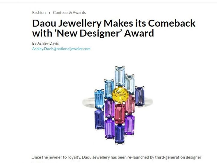 National Jeweler (US) – Daou Jewellery profile