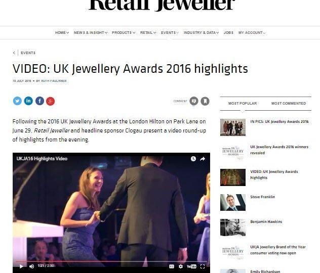 Retail Jeweller – UK Jewellery Awards Film