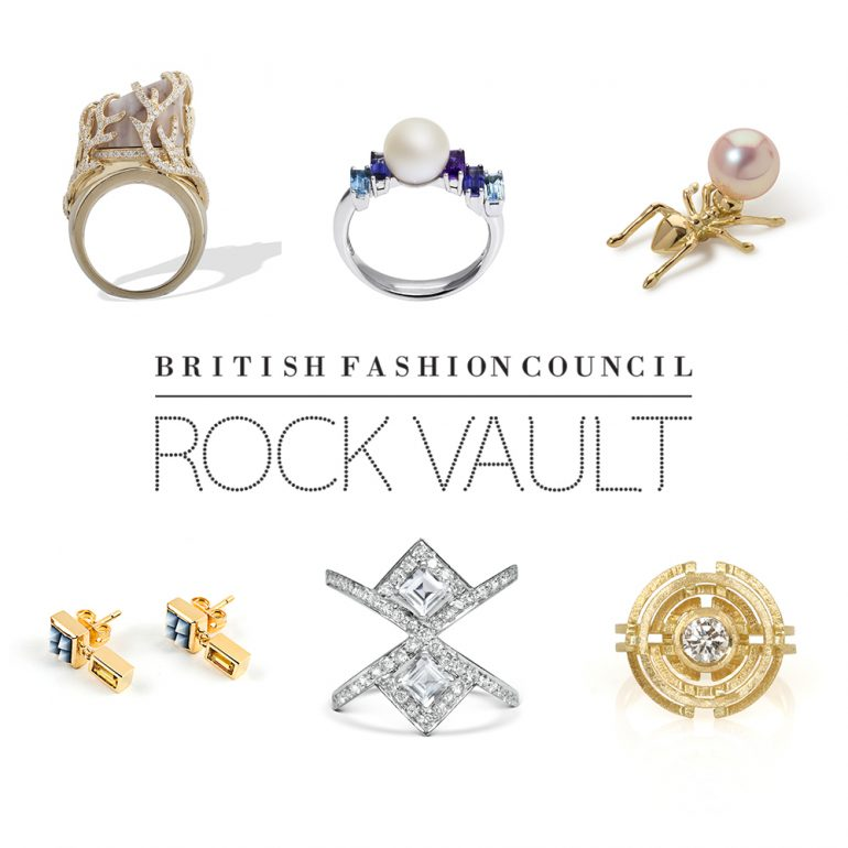 2016 August – British Fashion Council Rock Vault Selected