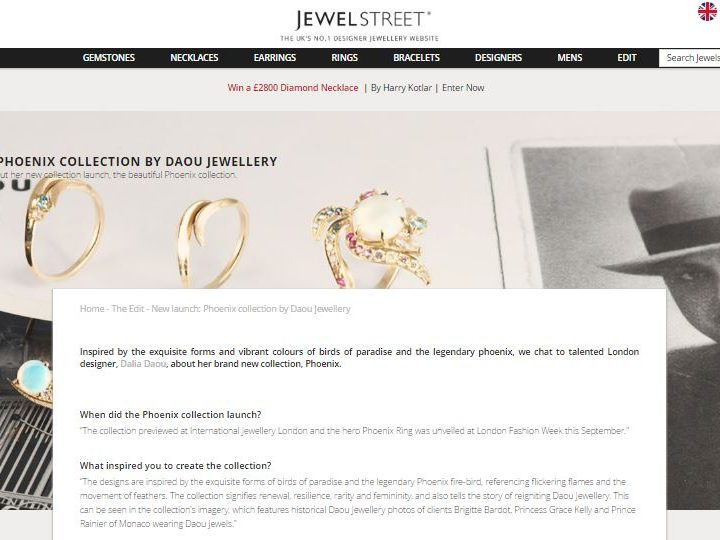 JewelStreet – Phoenix Collection interview