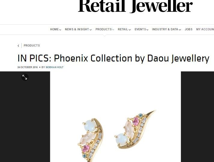 Retail Jeweller – In Pics Phoenix Collection