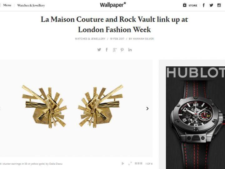 Wallpaper* – Rock Vault & La Maison Couture