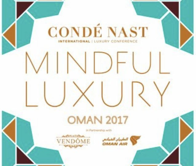 Conde Nast International Luxury Conference 2017 – Speaker Announcement
