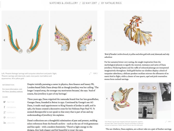 Wallpaper* – Daou Phoenix Collection Takes Flight