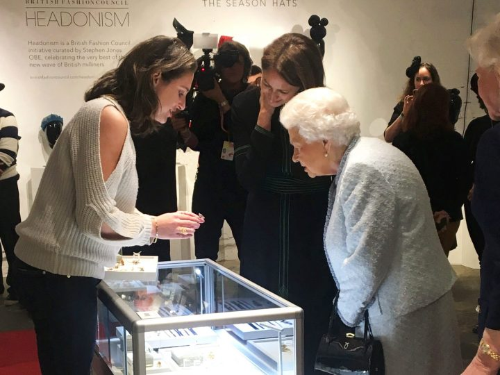 Queen Elizabeth II and Daou Jewellery, with Dalia Daou at London Fashion Week and in the 1960s