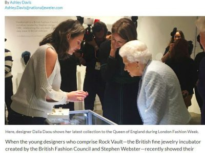 National Jeweller US – 2 British Designers on Meeting the Queen